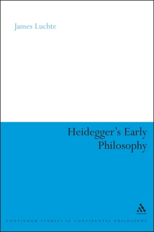 Heidegger's Early Philosophy